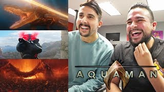 DC Is Ready To Take The Throne! REACTING TO AQUAMAN - Final Trailer   Aquaman Final Trailer Reaction