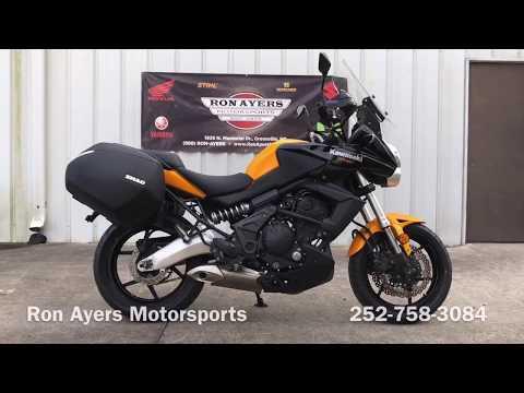 2012 Kawasaki Versys® in Greenville, North Carolina - Video 1
