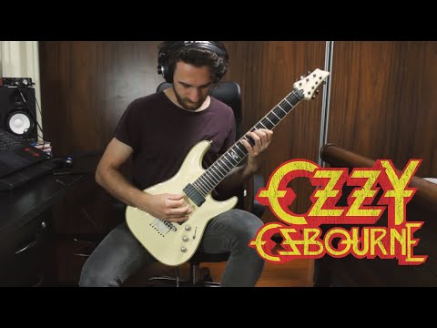 Ozzy Osbourne - Under the Graveyard GUITAR COVER NEW SONG 2019
