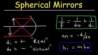 Spherical Mirrors & The Mirror Equation - Geometric Optics