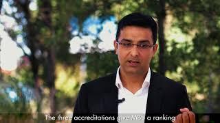 Sandeep, international student (Executive MBA) at Montpellier Business School