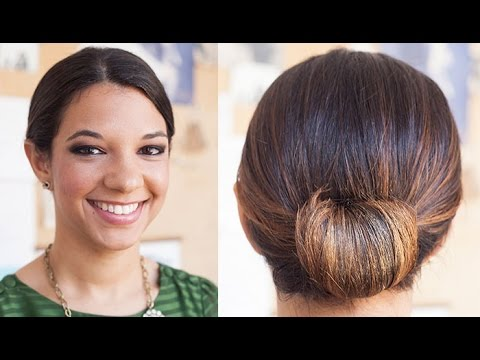 How To: Low Rolled Updo Tutorial