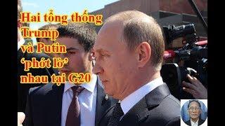 Khoảnh khắc Tổng thống Trump-Putin