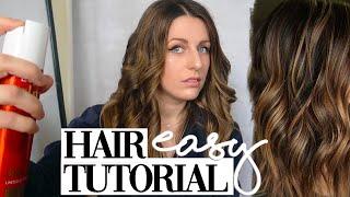 TRENDY INSTAGRAM HAIRSTYLE | MEDIUM HAIR CURLS TUTORIAL 2020