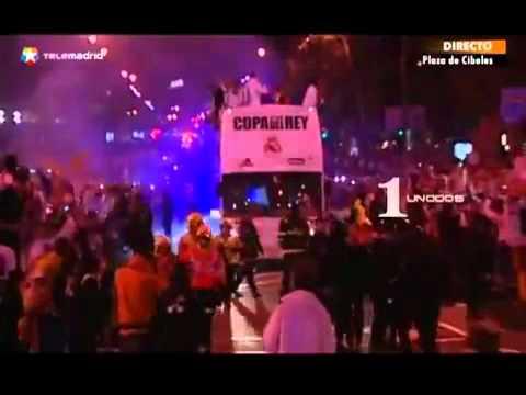 Sergio Ramos dropped the Copa del Rey trophy under the bus.