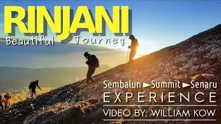 Mount Rinjani - unique & amazing scenery (video of 4 days trekking, incl. distance & altitude)