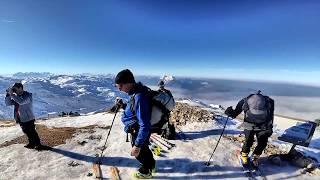 Skitour Untersberg 2018