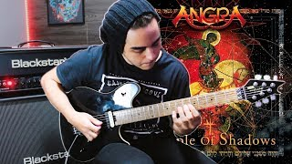 Angra - Waiting Silence (Full Solo Guitar Cover) | HD | Oliver Christian