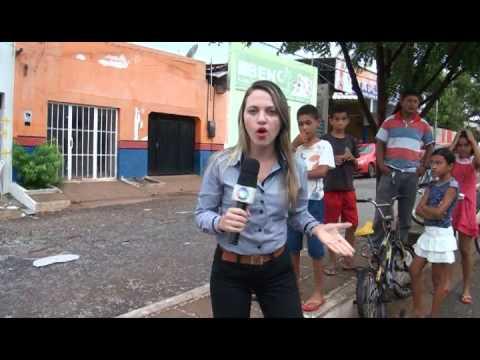 TV CIDADE DE PRESIDENTE DUTRA - EXPLOSÃO DO POSTO DE ATENDIMENTO DE SENADOR ALEXANDRE COSTA
