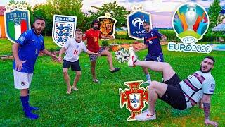 ⚽ L'ULTIMO che fa CADERE il PALLONE VINCE! EURO 2020 FOOTBALL CHALLENGE