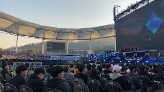 "2018 League of Legends World Championship Finals Opening Ceremony ""K/DA POP/STARS"" Crowd Reaction"
