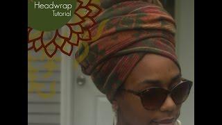 Yahya- Queen Headwrap Tutorial