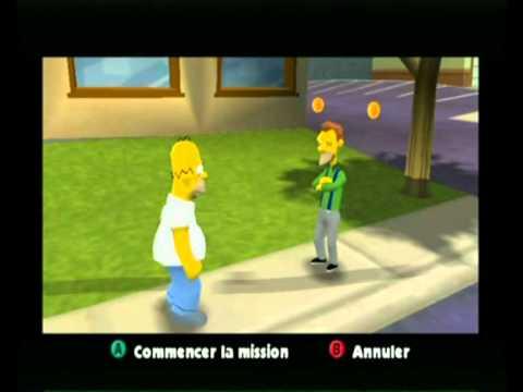 the simpsons hit & run nintendo gamecube