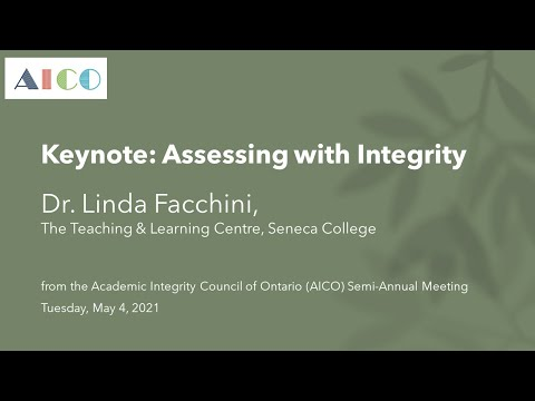 Assessing with Integrity