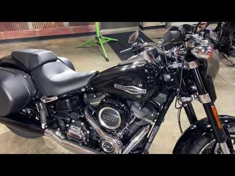 2018 Harley-Davidson Sport Glide® in Chippewa Falls, Wisconsin - Video 1