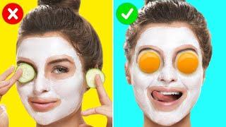 27 DIY Natural Homemade Face Masks || Girly Beauty Tricks