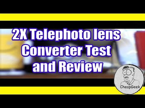 Digital Concepts  2X Telephoto lens Converter Test and Review