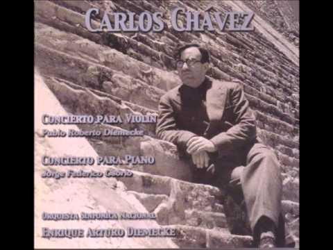 Chávez: Piano Concerto (Osorio, Diemecke, OSN - Live)