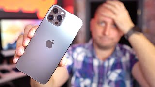I REGRET Buying the Apple iPhone 12 Pro Max - Here is Why!