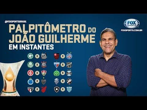 PALPITÔMETRO DO JOÃO GUILHERME! 32ª rodada do Campeonato Brasileiro