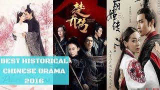 BEST HISTORICAL CHINESE DRAMA 2017