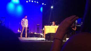 Даррен Крисс, Ingrid Michaelson and Darren Criss sing Over You at Summerstage 2014 in Central Park (Part 1)
