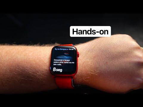 Hands-on: Apple Watch Series 6 com teste do oxímetro