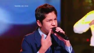 Camilo cantó Nada cambiará mi amor por ti de G. Goffin – LVK Col – Semifinales – Cap 51 – T2