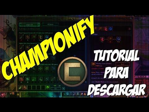 Informativo | Championify | Descargar Championify para el