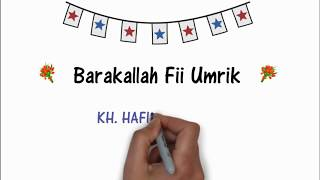 UCAPAN ULANG TAHUN ISLAMI (SELAMAT MILAD BARAKALLAH FII UMRIK)