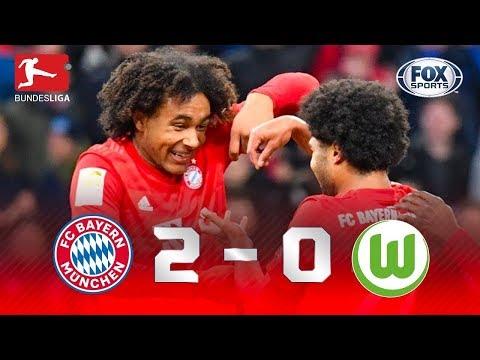 VITÓRIA DOS BÁVAROS! Veja os melhores momentos de Bayern 2 x 0 Wolfsburg pela Bundesliga