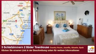 preview picture of video '3 Schlafzimmern 2 Bäder Townhouse zu verkaufen in Country House, Jacarilla, Alicante, Spain'