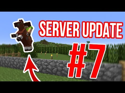 Stavíme dostihové zavodiště | Server Update #7