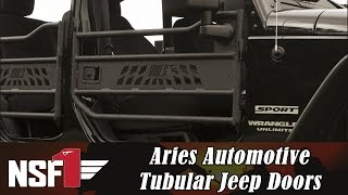 NSF1 Project Jeep Part 16: Aries Automotive Tubular Jeep Doors