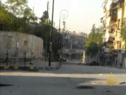 استمرار القصف بالطائرات على مدينة حلب وريفها