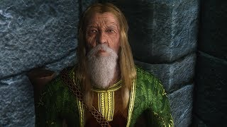 Tolfdir ages rapidly when asked about Augur of Dunlain