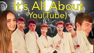 The YouTube Boyband Reaction- it's all about you(tube) Head Spread