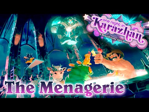 HS: Karazhan - The Menagerie - První fail (Normal + Class Challenge) [CZ]