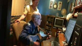 SILVER HAIRED DADDY OF MINE BY LOYCE AND ROY STERNHAGEN.wmv