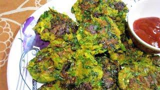 palak poha cutlet recipe in hindi - Kênh video giải trí dành