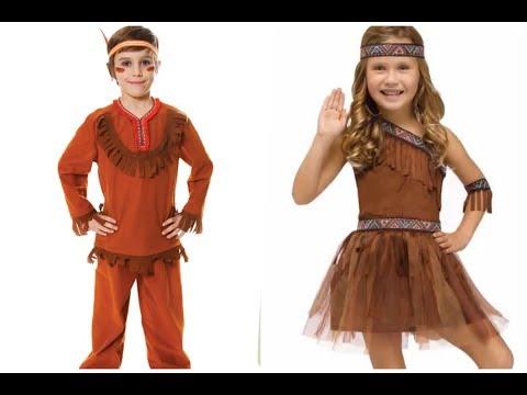 Los mas creativos Disfraces de indios para niños