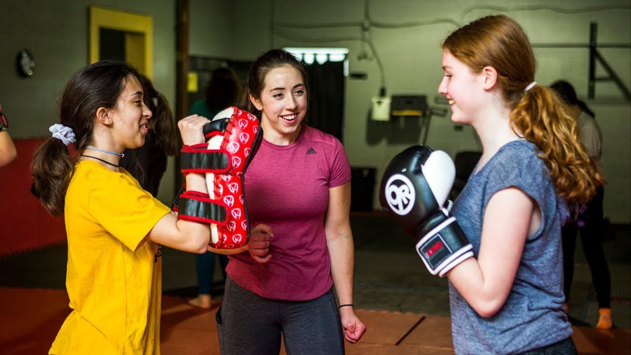 GIRLS WHO FIGHT: Young women benefit from the skills of former MMA fighter