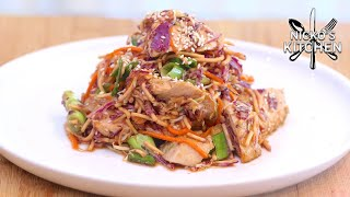 Chinese Chicken Salad | Inspired from Wolf Gang Puck