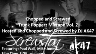 10 Young Problemz - Boi ft. Mike Jones and Gucci Mane Chopped & Screwed by DJ AK47