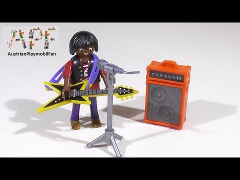 Vidéo PLAYMOBIL Special Plus 4784 : Chanteur de rock avec guitare
