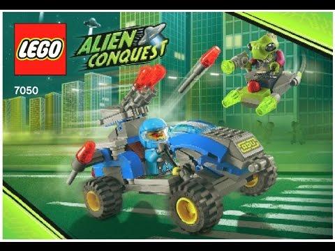 Vidéo LEGO Alien Conquest 7050 : Le soldat de la force Anti-Alien