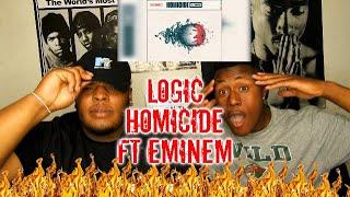 Logic   Homicide (feat. Eminem) (Official Audio) REACTION