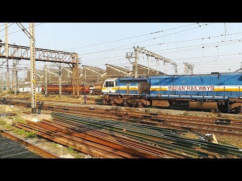Chhatrapati Shivaji Maharaj Terminus : One Place, Different Sheds!! Indian Railways!!