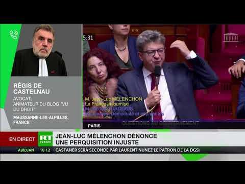 Perquisition chez Jean-Luc Mélenchon : «La justice se laisse instrumentaliser»