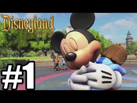 Disneyland Adventures Gameplay Walkthrough Part 1- Xbox One